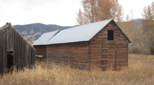 Granary used for Zoske Construction Bozeman MT custom home
