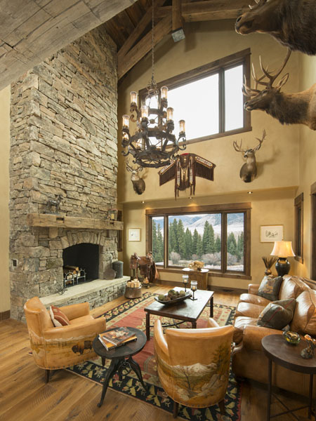 Aspen Homes MT rustic elegance custom home
